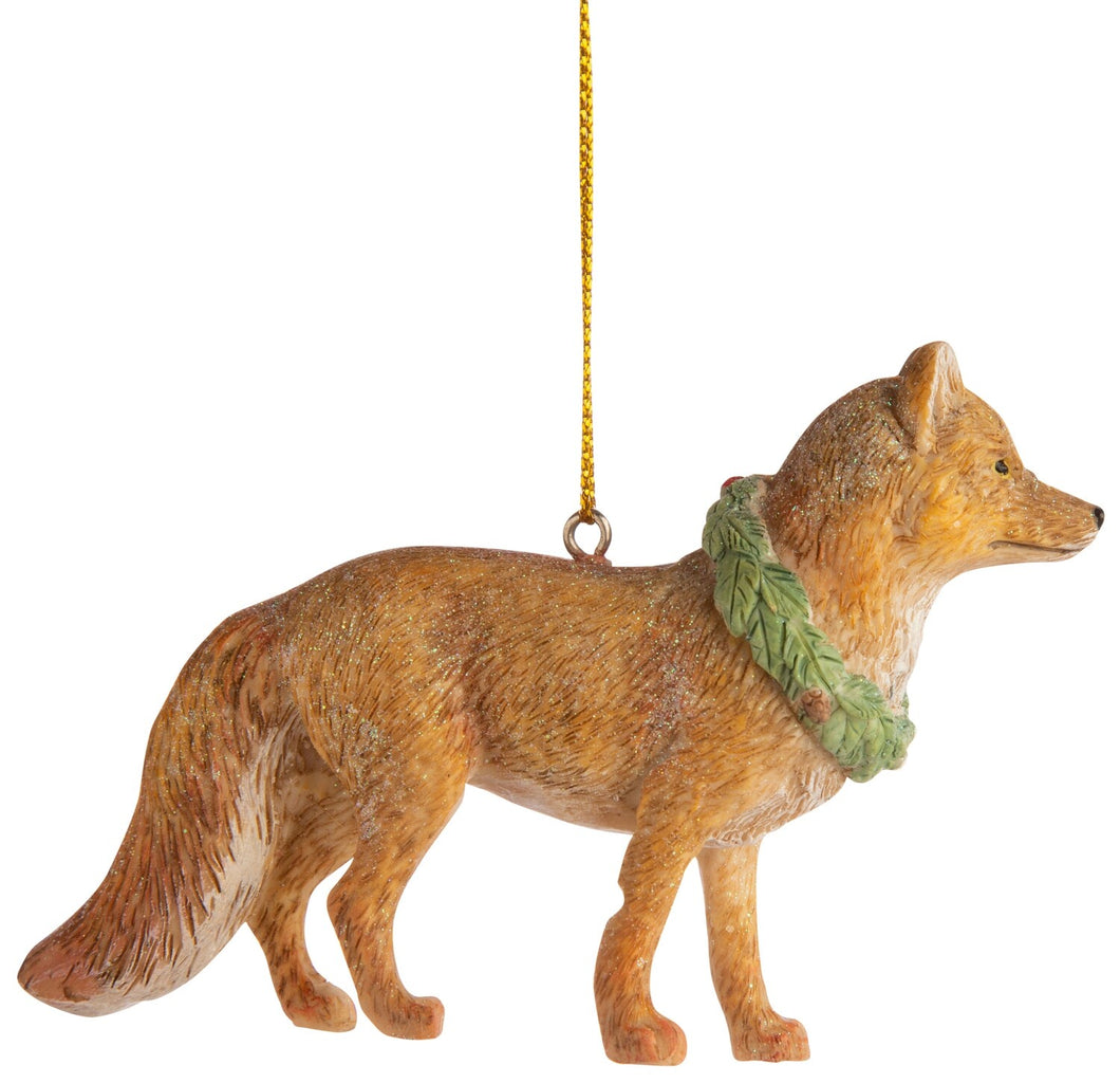 Woodland Fox Ornament