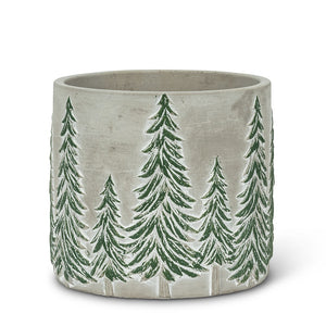 Snowy Tree Planter - 2 sizes