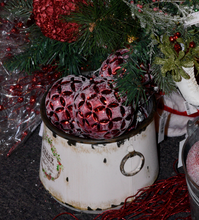 Load image into Gallery viewer, Rustic Merry Christmas Pots - 2 sizes