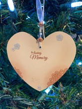 Load image into Gallery viewer, Remembering Mother Memorial Heart Ornament