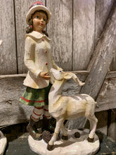 Load image into Gallery viewer, Victorian Child With Deer