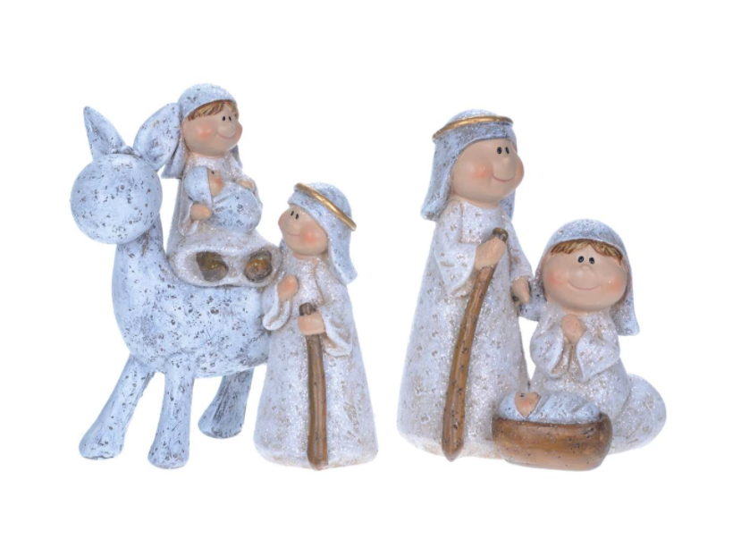 Grey Childlike Nativity - 2 styles