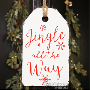 Metal Gift Tag Wall Hanging - 2 styles