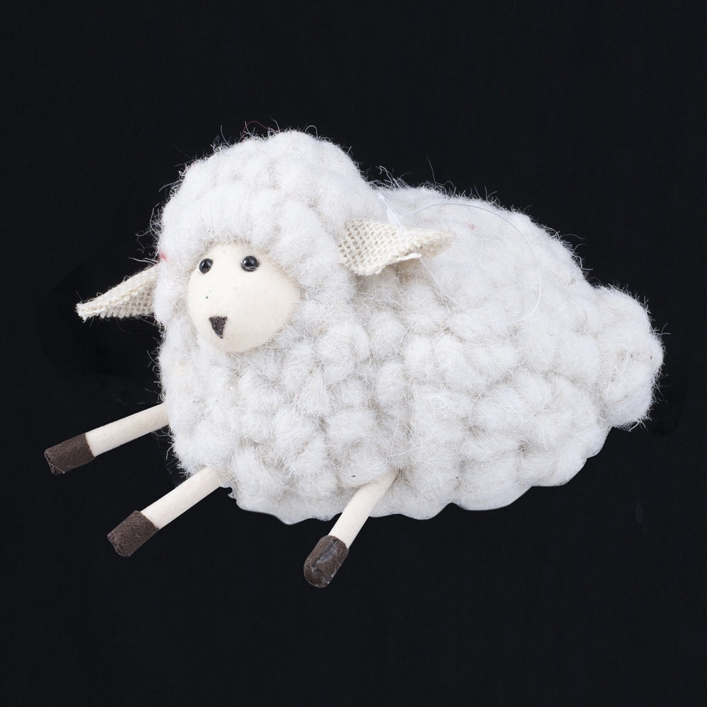 Sitting Wooly Sheep