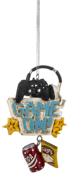 Video Game Ornament - Game On