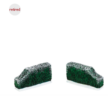 tudor gardens tapered hedge set of 2