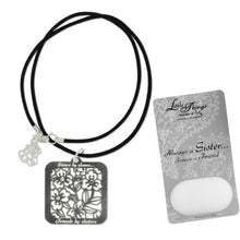 Load image into Gallery viewer, Always a Sister, Forever A Friend Necklace