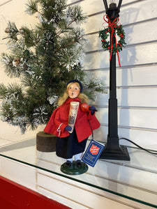 salvation army girl w bell