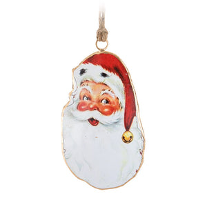 Vintage Santa Face Ornament