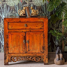 chinese antique furniture - chinese trunks