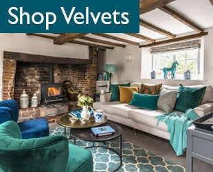 Textures & velvets - country cottage