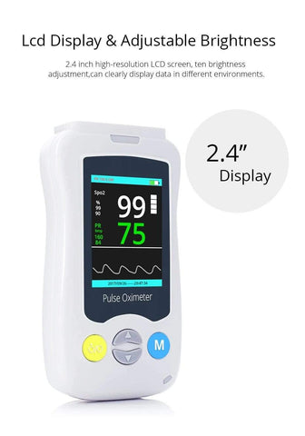 Baby Accessories Online infant oximeter Baby Infant Child Pulse Oximeter