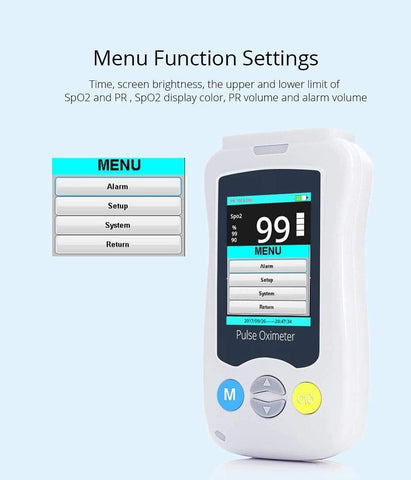 Baby Accessories Online oximeter Adult Pulse Oximeter Professional Medical Grade