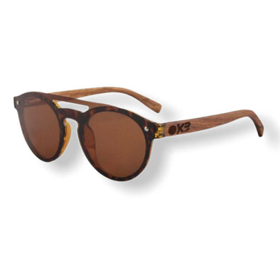 Francis T Zebra Wood Sunglasses