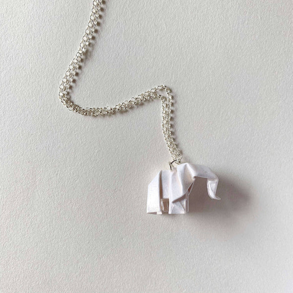 Jewelry - Elephant Silver Necklace - wynwoodtribe