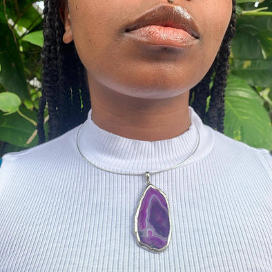 Purple Dreams Agate