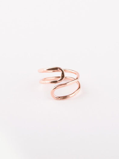 Jewelry - Twist ring copper - wynwoodtribe