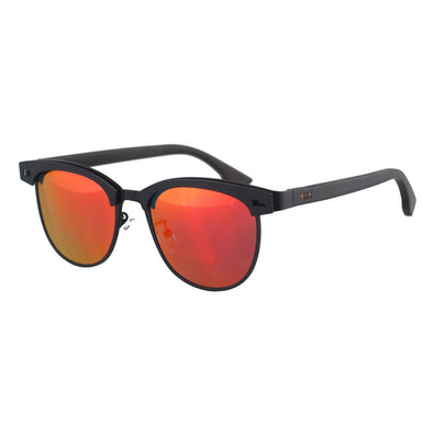 Naos R Walnut Wood Sunglasses