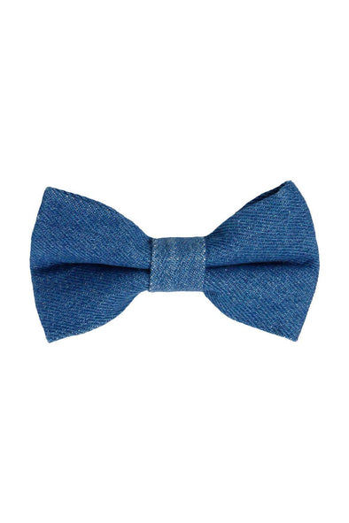 Accessories - Timeless Denim Dog Bow Tie - wynwoodtribe