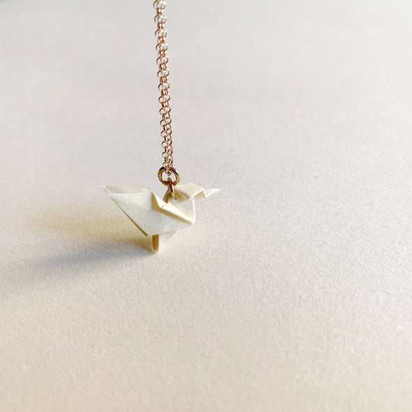 Hummingbird Silver Necklace