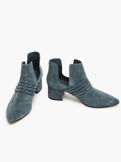 Joselyne Boot Blue Grey Suede