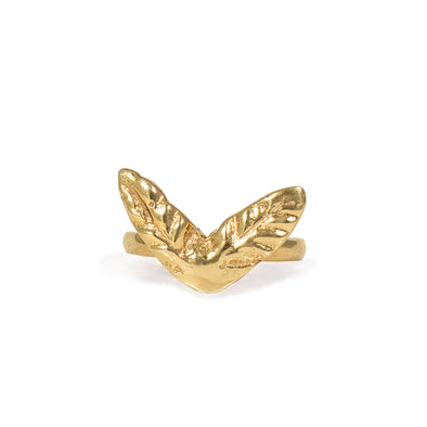 Gold Midi Palmerita Ring