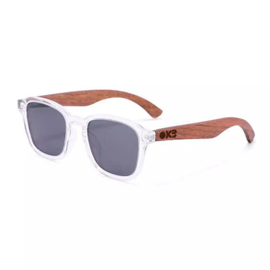 Monaco Walnut Wood Sunglasses