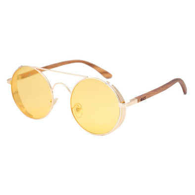Capri Night Vision Zebra Wood Sunglasses