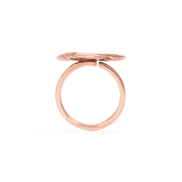 Rose Gold Midi Palmerita Ring