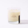 Leather Pine Candle
