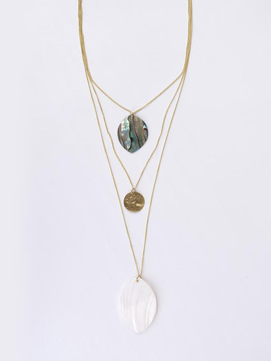 Sand And See Necklace Shell