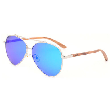 Nero BL Walnut Wood Sunglasses