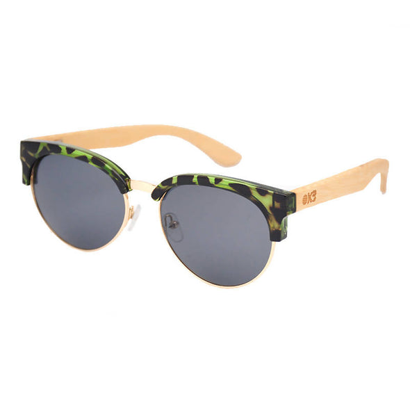 Cornelia Bamboo Wood Sunglasses