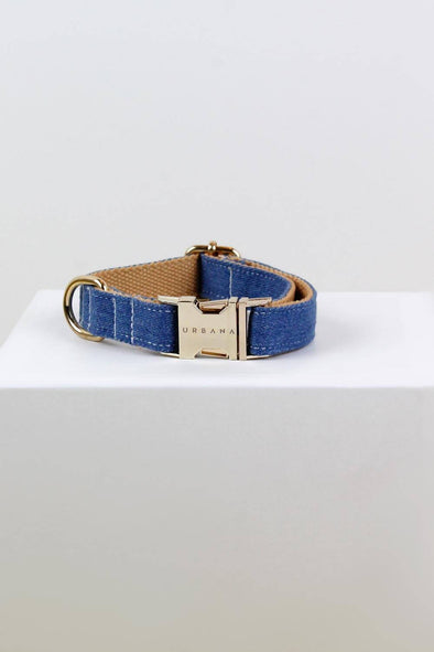 Accessories - Timeless Denim Dog Collar - wynwoodtribe
