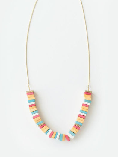 Coney Island Candy Necklace Rainbow