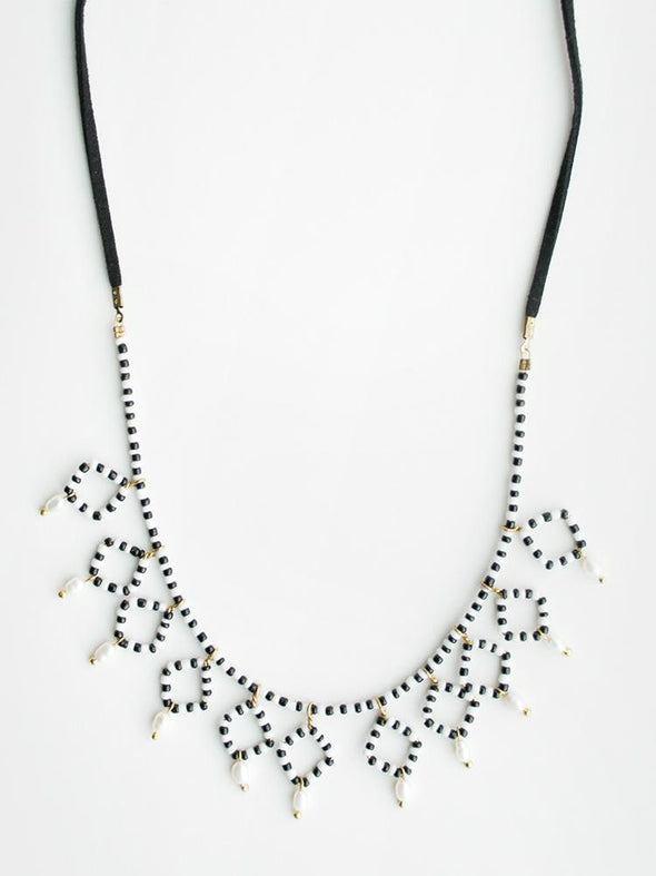 King Cobra Necklace Black