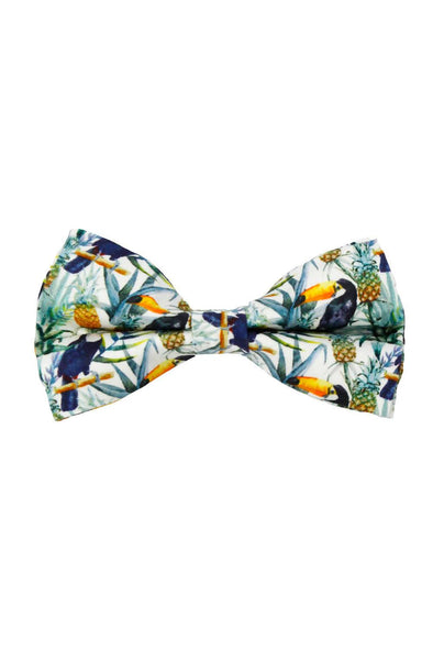 Accessories - Tropical Jungle Dog Bow Tie - wynwoodtribe