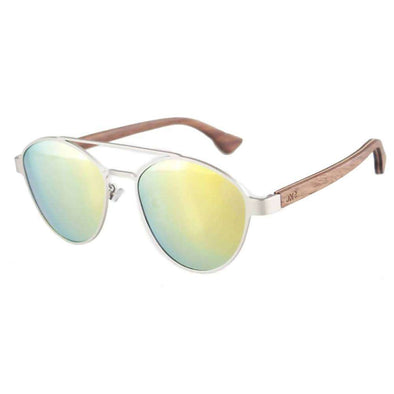 Sunglasses - Amalfi YW Walnut Wood Sunglasses - wynwoodtribe