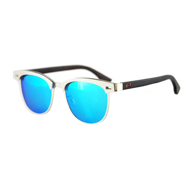 Naos BL Walnut Wood Sunglasses