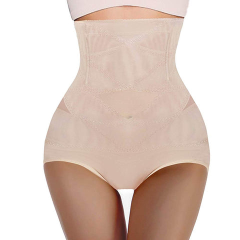 GOTOLY Ladies Diaphanous High-Waist Panties Butt Lifter