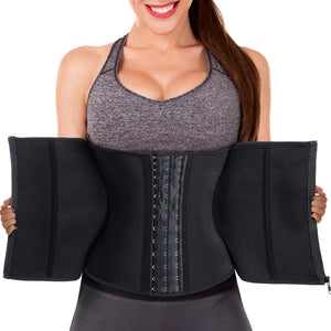 GOTOLY Latex Woman Waist Trainer Cincher