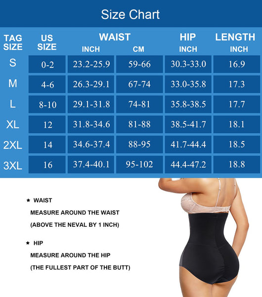 GOTOLY Women Butt Lifter Shapewear High Waist Tummy Control