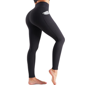 GOTOLY Exercise High-Waisted Pocket Yoga Pants