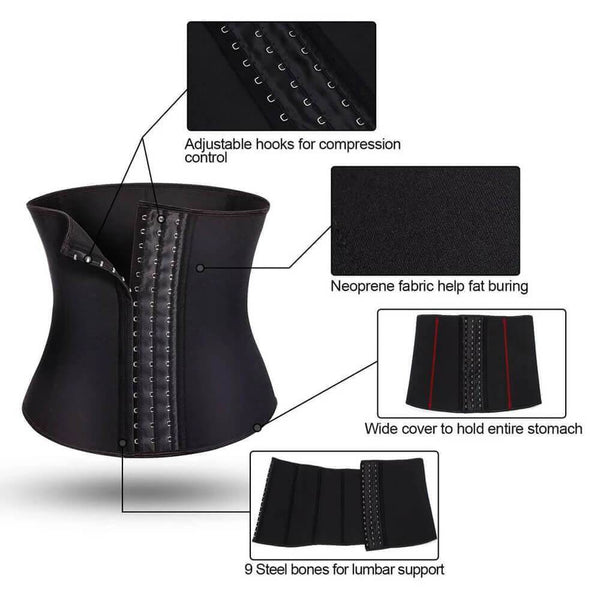 GOTOLY Women Fat Burning Waist Trainer Belt