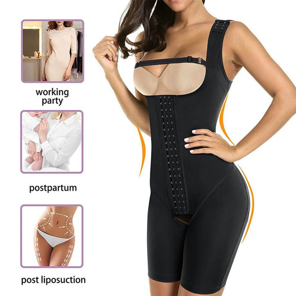 GOTOLY Women's Waist Trainer Bodysuit Butt Lifter Shapewear