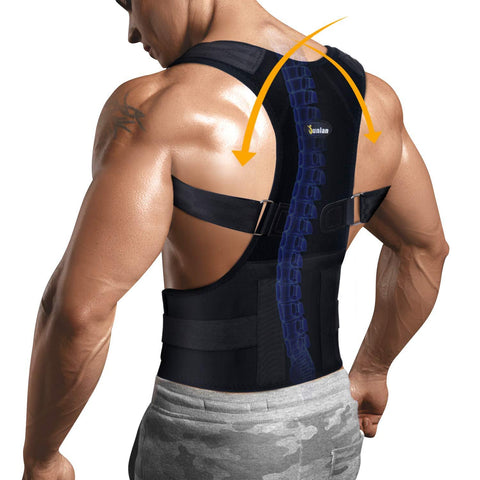GOTOLY Back Pain Relief Support Posture Adjustable  Support Belt