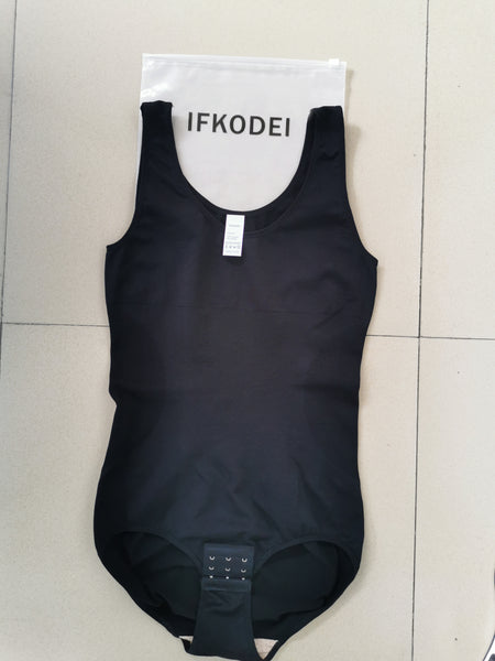 IFKODEI SCOOP NECK TUMMY CONTROL BODYSUIT