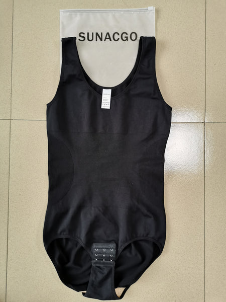 Sunacgo SCOOP NECK TUMMY CONTROL BODYSUIT