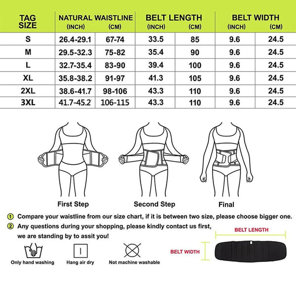 GOTOLY Women Slimming Waist Cincher