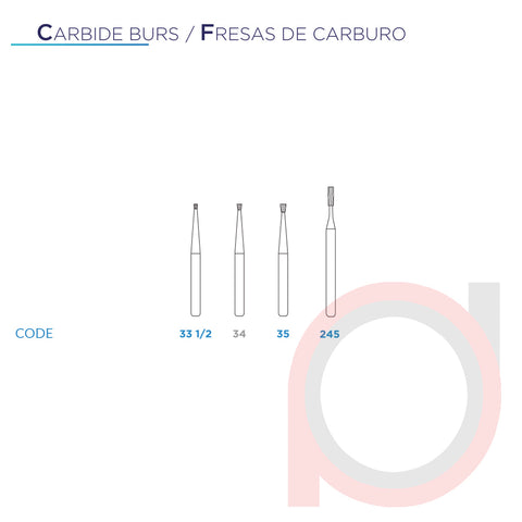 FG Carbide Inverted 33 1/2